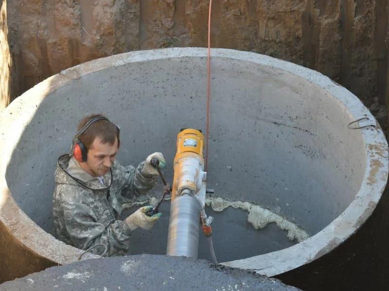 септик из бетонных колец цена в Одинцовском районе